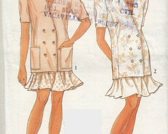 Womens Jacket Sewing Pattern, Skirt Sewing Pattern, Vintage Sewing Pattern, Simplicity 7671 Uncut Sewing Pattern