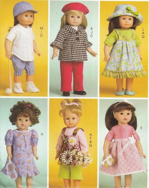 Amerikanische Mädchen Puppenkleider Schnittmuster Kleidung | Etsy