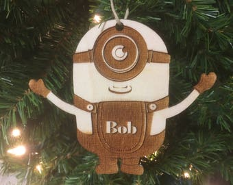 minions personalized christmas ornament - Minions Christmas Tree