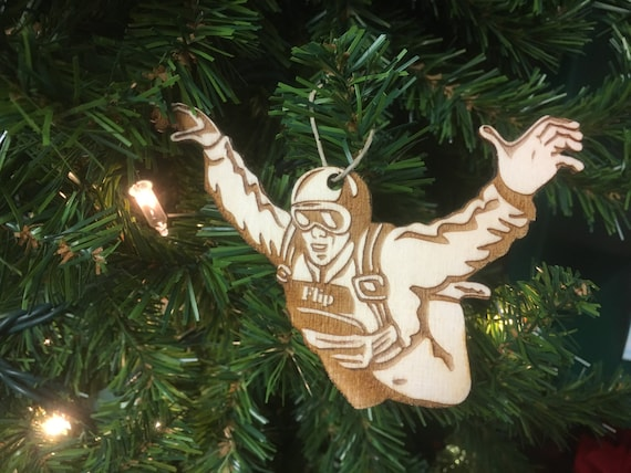 Skydiving 1 Personalized Christmas Ornament - Skydiving 1 Personalized Christmas Ornament Etsy