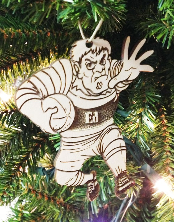 Rugby Personalized Christmas Ornament - Rugby Personalized Christmas Ornament Etsy