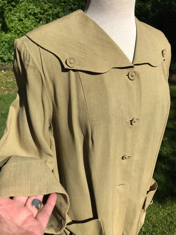 30's -40's 2 piece adjustable Women's suit~ adorab