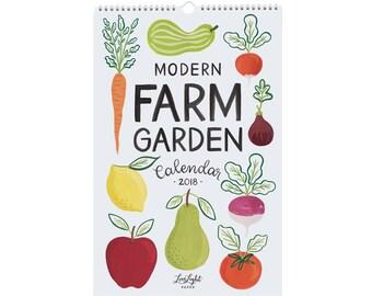 Modern Farm Garden - Calendar 2018