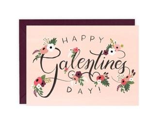 Happy Galentines Day - Friend Valentines Card