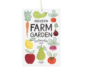 Modern Farm Garden - Mini Calendar 2018