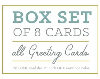 Box Set of 8 Greeting Cards