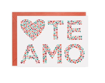 Te Amo Card