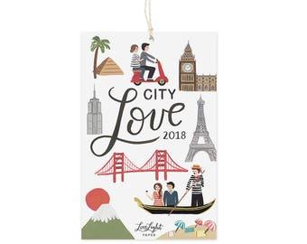 City Love - Mini Calendar 2018