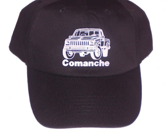 8eaa1689291 Unstructured HAT Jeep Comanche MJ 4X4 Sport Truck 4.0 4WD Custom Screen  Printed Cap