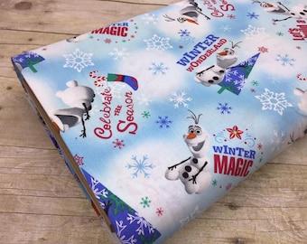 Spring Creative - Olaf Christmas - Disney - Princesses - Frozen - Elsa - Anna - Olaf - Christmas - Winter - Blue - Ice