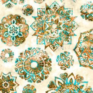 Tonal Movement Brown Blender One More Yard Tone on Tone P/&B Textiles Kashmir Kaleidoscope Accent KASK 4098-K Texture