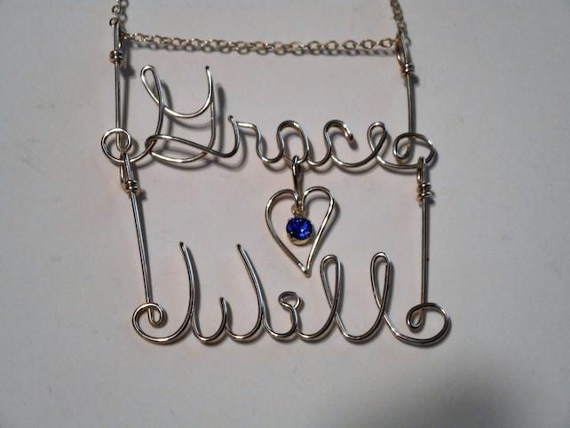 Name Doppelnamen 12K Gold gefüllt Name Kette Halskette   Etsy