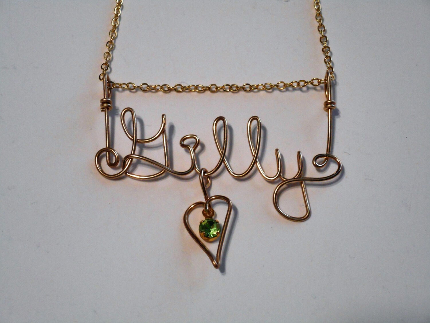 Name Chains Name Necklace Silver name necklace Gold name