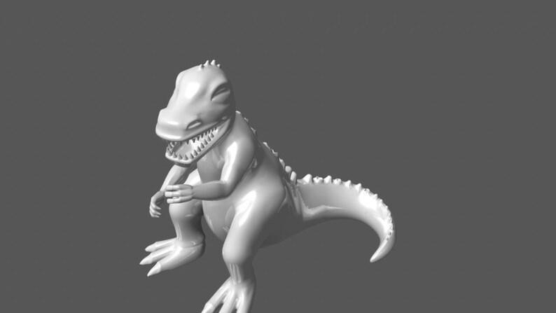 Dinky Dino Toy STL