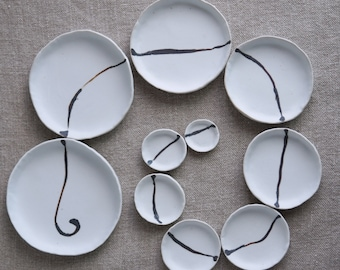 Necklaces & Ring Dishes