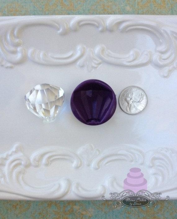 Diamant Bling Silikonform Edelstein Silikon Formen Etsy
