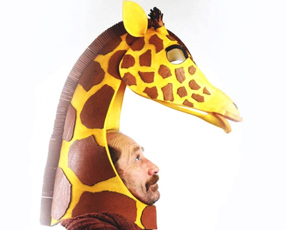 Enfant Sauvage animale africaine girafe Déguisement 2 Tailles