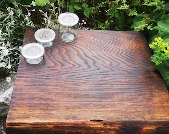 Dulcimer cutting board serving board