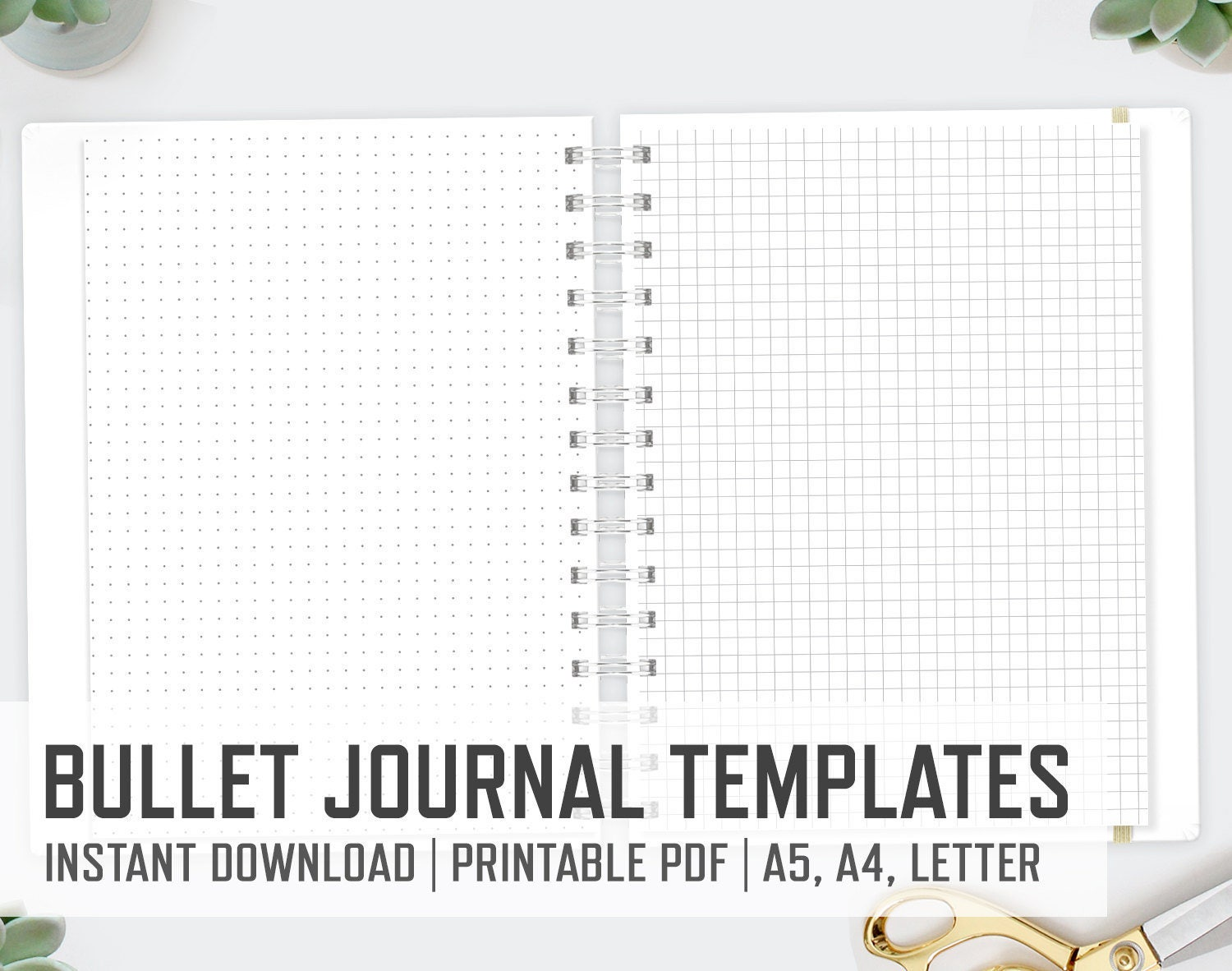 It is a photo of Intrepid Bullet Journal Template Pdf
