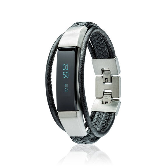 Leather Bands Strap for Fitbit Alta and Fitbit Alta HR Replacement Wristband Acc