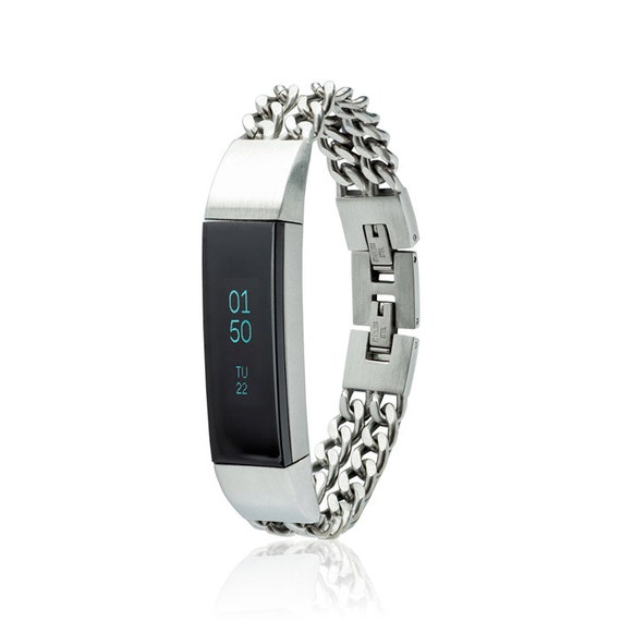 Bracelet NOE - Chain Bracelet  - for Fitbit Alta - Alta HR - Ace - Jewelry -  made from quality stainless steel