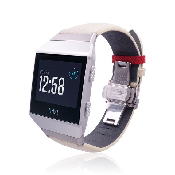 Fitbit Ionic Band - Stingray - more colors available - stainless steel and leather