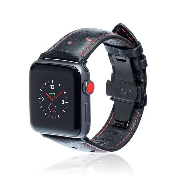 Apple Watch Band - Spot - more colors available - stainless steel and leather