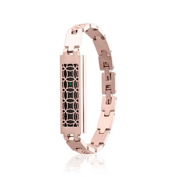 Bracelet MYRA made for Fitbit Flex 2 -ROSE GOLD - more from stainless steel