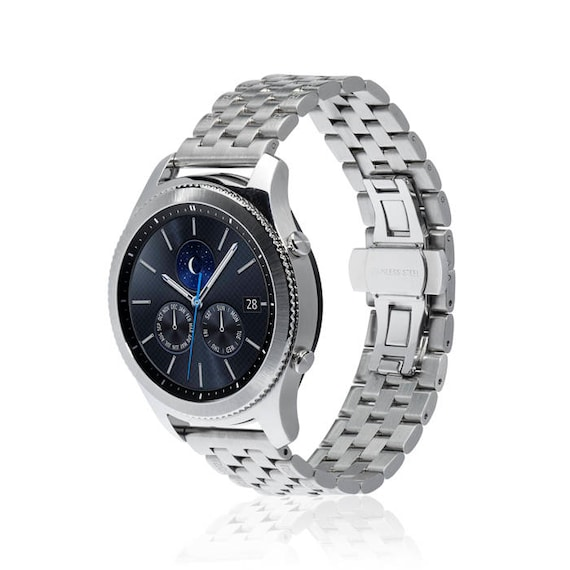 Watch Band LINK for Samsung Gear S3 Classic/Gear S3 Frontier more colors available - stainless steel