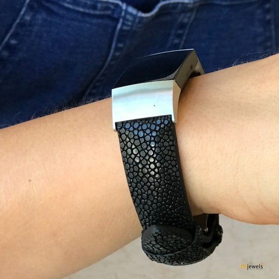 PRE-ORDER: Fitbit Charge 3 Band STINGRAY - Black - ships 30st of November