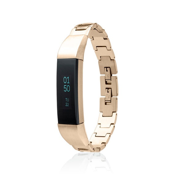 Bracelet SOSO - for Fitbit Alta - Alta HR - Ace - Jewelry - 18K Gold plated -  Stainless Steel