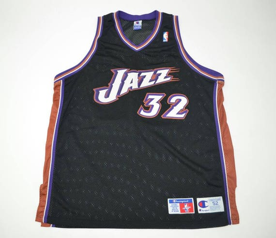 new arrival f98d7 f21b2 Utah Jazz Karl Malone Authentic Jersey