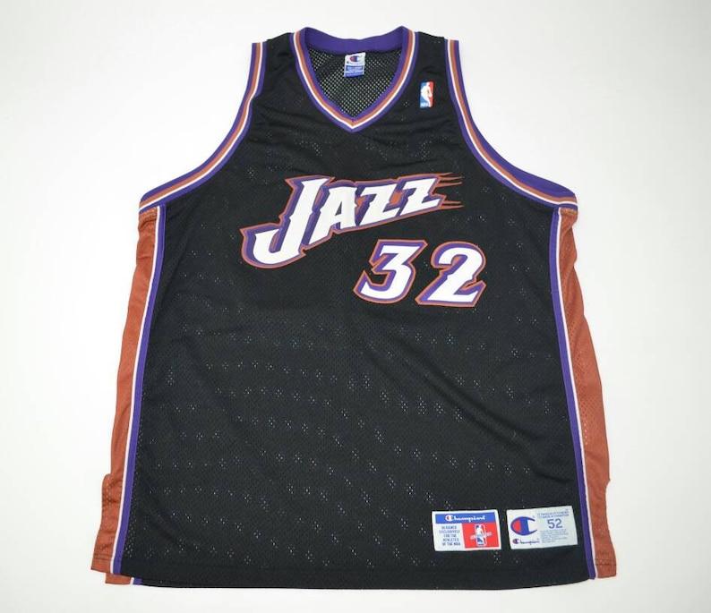 new arrival cae45 ec446 Utah Jazz Karl Malone Authentic Jersey