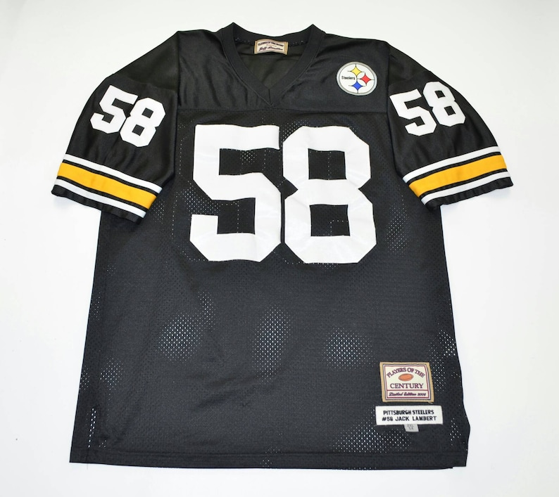 sports shoes b36ee 1b2e5 2004 Players of the Century Jersey. Retro Pittsburg Steelers