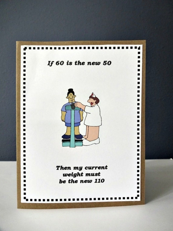 Funny happy birthday card weight card funny 50th 60th 70th m4hsunfo