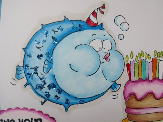 Big Birthday Card For The Older Cake And Candles Make A