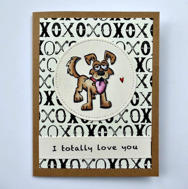Birthday Card From The Dog Animal Anniversary Husband Wife