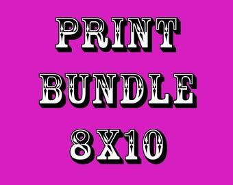Print Bundle 8x10, Prints, Fine Art Prints, Art Prints
