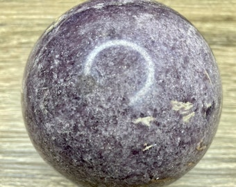 Large Lepidolite Crystal Ball A5