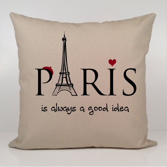 Paris Is Always A Good Idea Pillow Audrey Hepburn Pillow Etsy