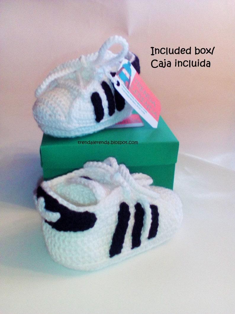 Adidas In Baby GrößenEtsy Superstar Verschiedenen 3 Muster Häkeln lwOPZiukXT