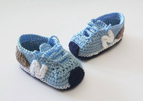 estilo o NEW BALANCE patucos a zapatillas paso deportivos de paso PATRÓN de bebé a de crochetEscarpines ganchilloTutorial u5lFKT1cJ3
