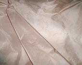 SCALAMANDRE SYMPHONY SILK Taffeta Fabric 10 Yards Pink Slipper