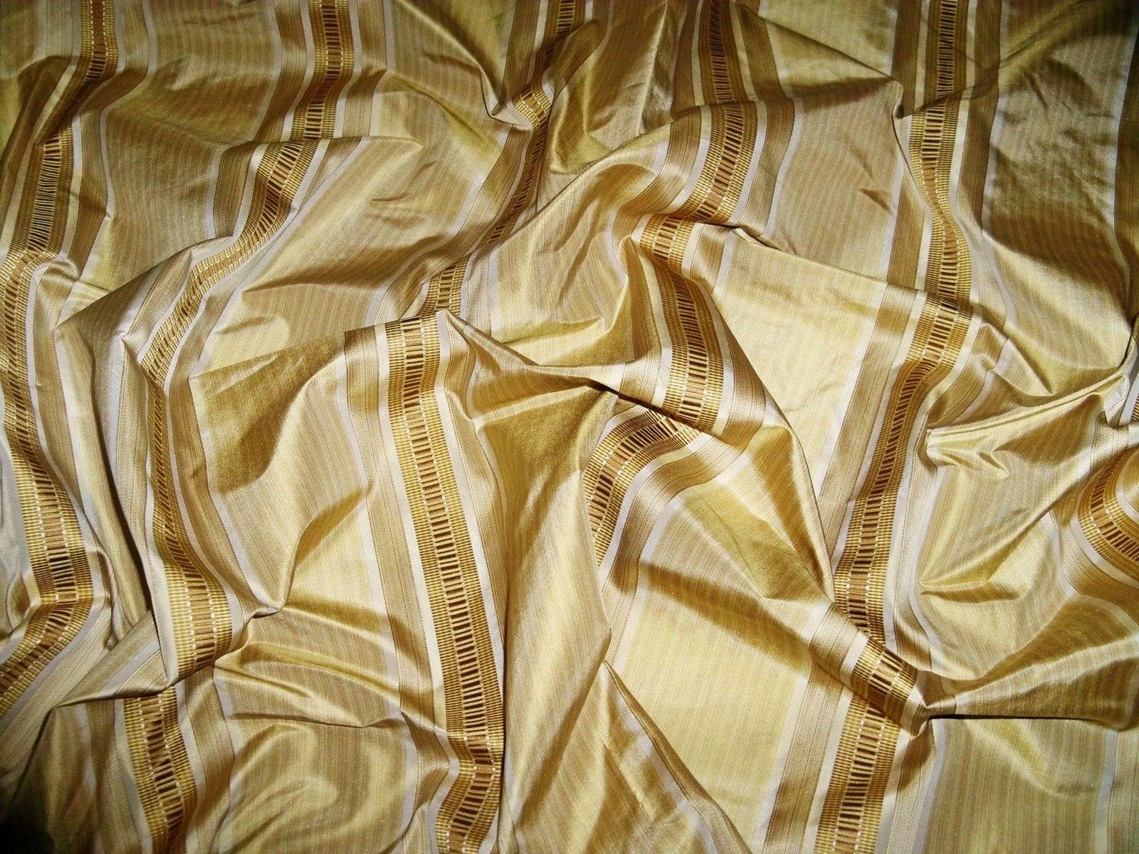 LEE JOFA KRAVET Couture Collins rayures tissu tissu tissu damassé de soie 10 verges miel ambre d'or 1f4aaf