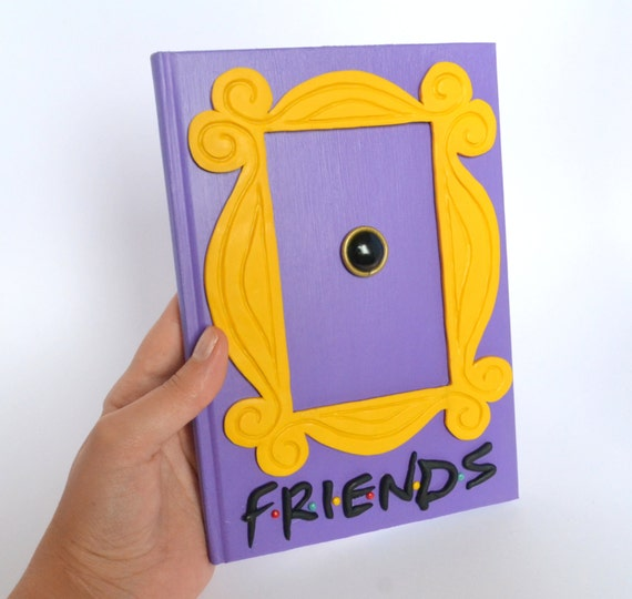Friends Tv Show Peephole Picture Frame Image collections - origami ...