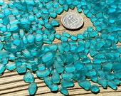 very tiny sea glass blue sea glass bulk tumble glass raw jewelry stones blue glass gems glass jewelry making craft