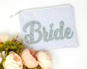 Bride gift, Bride Bag, Bride to be bag, Bride clutch, Bride Clutch Bag, Hen do, Hen Party