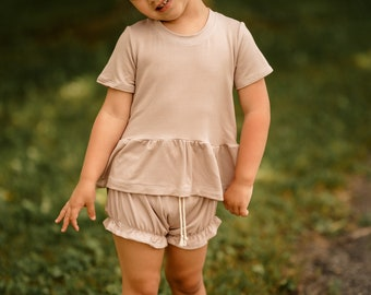 Sand Bamboo French Terry Set