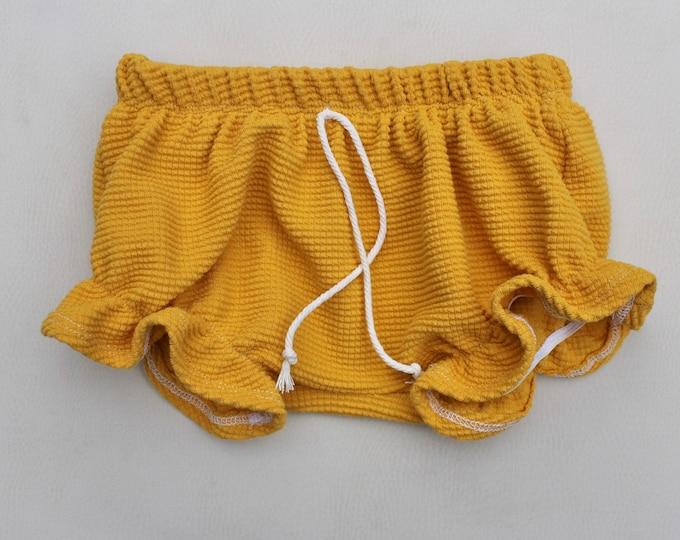 Marigold Ruffle Shorties