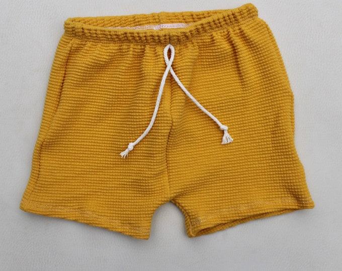 Marigold Midi Shorts